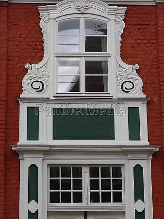 facade in the dutcjh quarter in