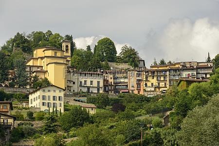 borgo canale and its church bergamo