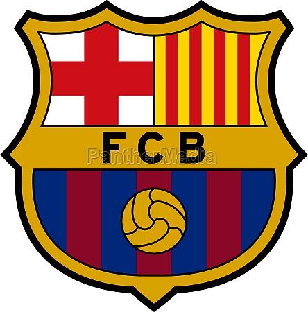 logo des fc barcelona spain