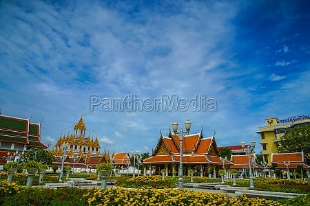 wat rachanadaramu rohapurasato bangkok thailand