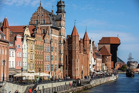gdansk old town historic
