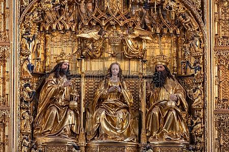 the main altar of st marys