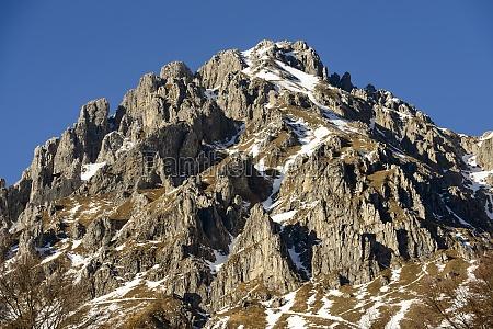 grignetta peak south western side