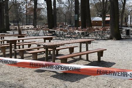closed beer garden