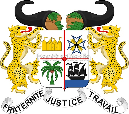 coat of arms of benin