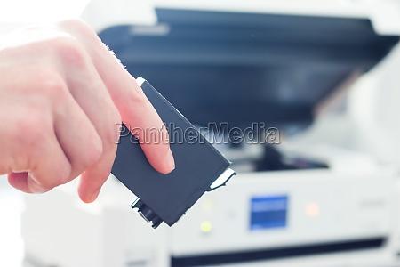 refilling third party printer cartridges inkjet
