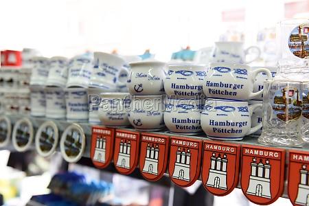 souvenirs aus hamburg deutschland europa