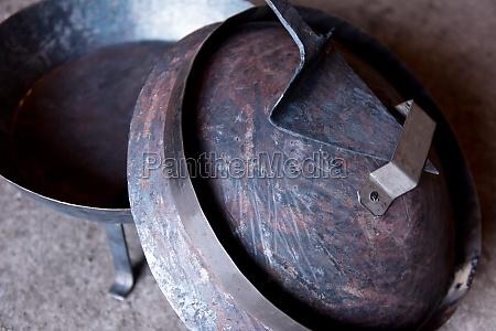a blacksmith shop
