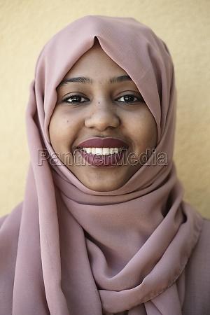 african muslim business woman portrait