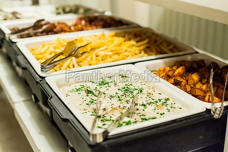 french fries served in event dish