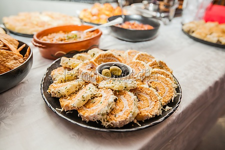 food buffet catering party
