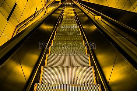 of warm escalator image