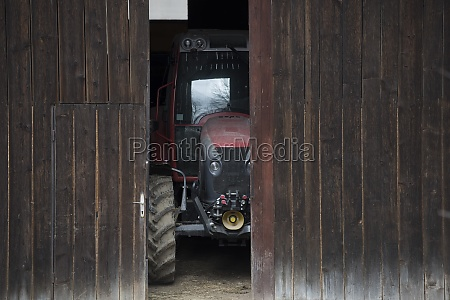 tractor in agriculture and farming