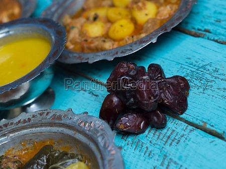 eid mubarak traditional ramadan iftar dinner