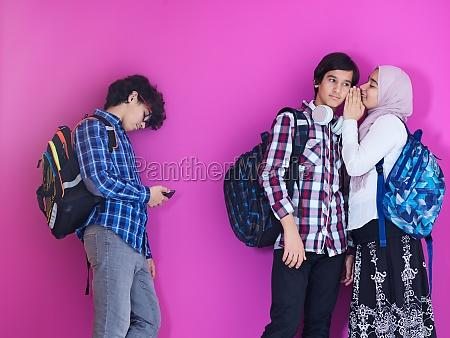 teens gossip