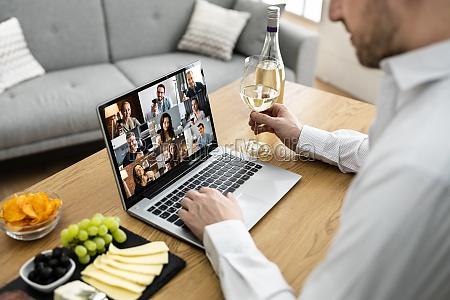 virtual wine tasting dinner event online