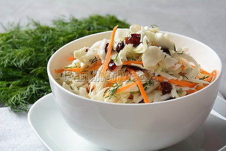 cabbage salad with carrot smoked