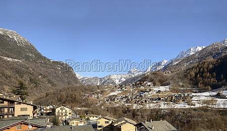 caspoggio mountain village valmalenco italy