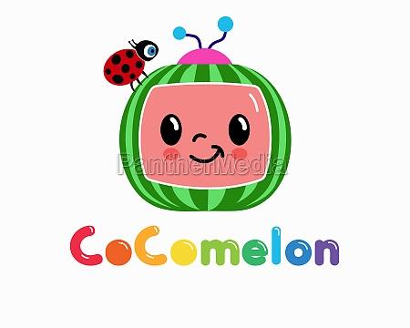cocomelon cartoon baby illustration editorial