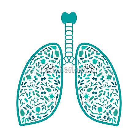 bacteria and virus in respiratory system