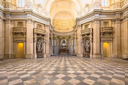 royal church in reggia di venaria