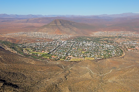town of graaff reinet in the