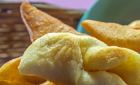 fried wheat dumplings known as chiacchiere