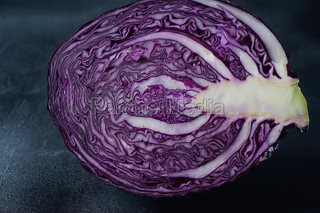 red cabbage one slice fresh red