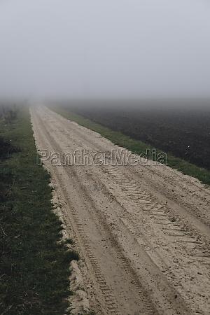 ground path between field hidden in