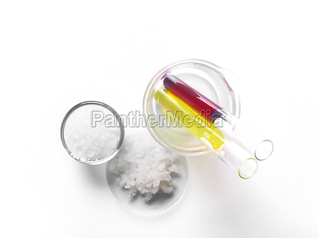 microcrystalline wax in glass container flake