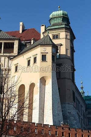 wawel royal castle krakow poland