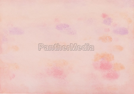 watercolor painting in pink purple and