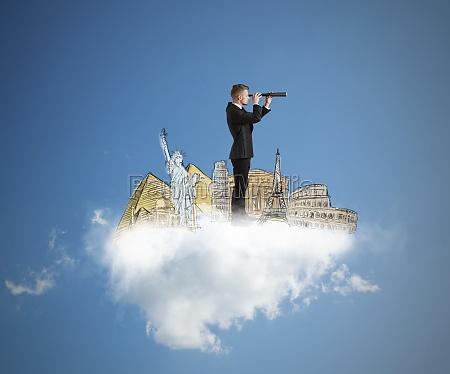 dream and search new destinations