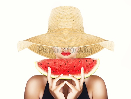 summertime and watermelon