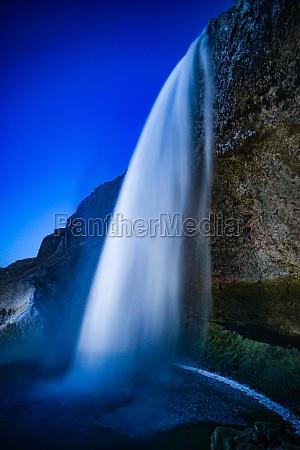 seljalandsfoss of the waterfall iceland