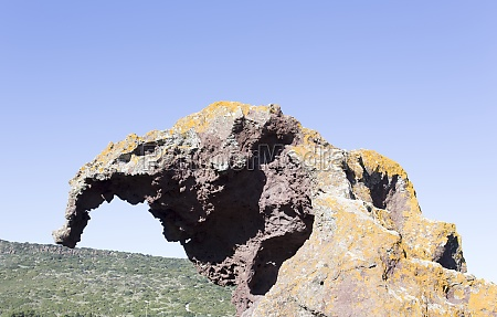 the elephant rock located near castelsardo