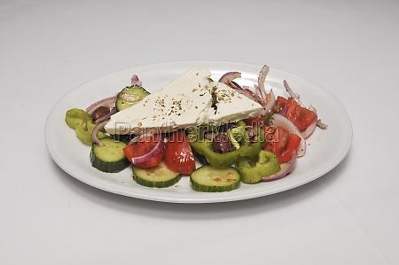 delicious horiatiki greek salad