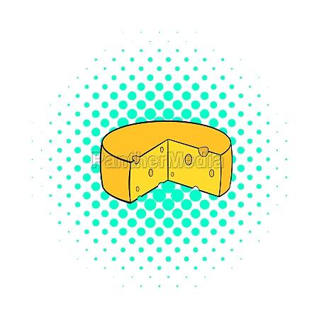 dutch cheese icon comics style