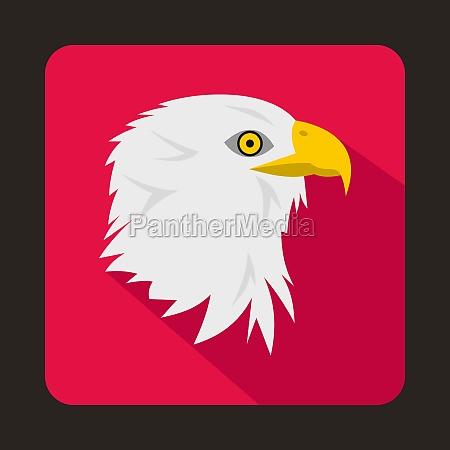 eagle icon flat style