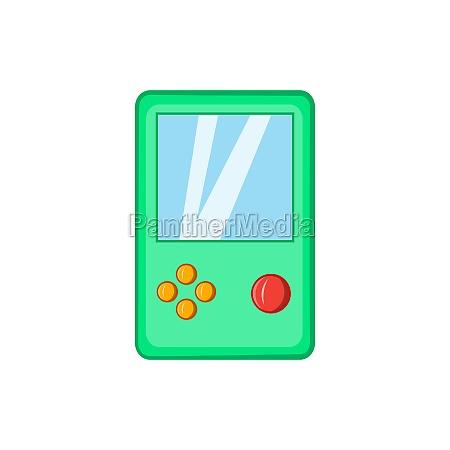 tetris icon cartoon style