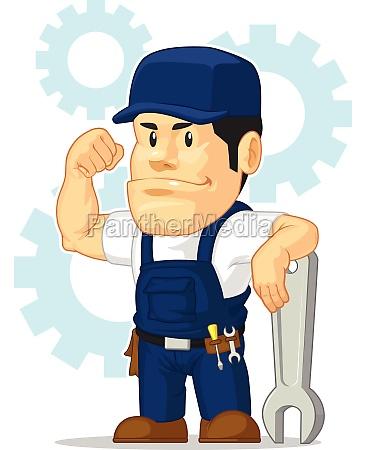 car mechanic automotive garage repair shop