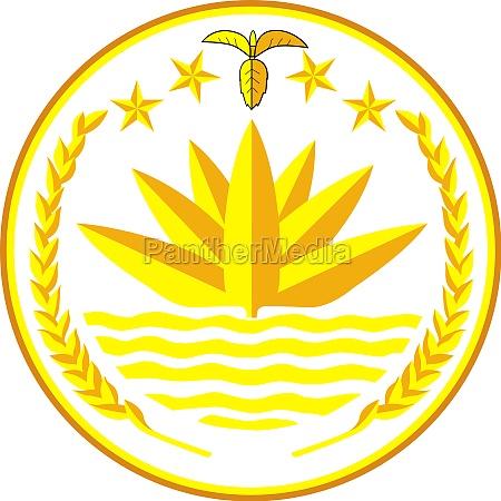coat of arms of bangladesh