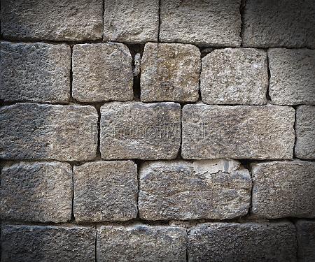 old grunge brick wall background close