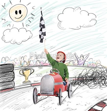 child winner race