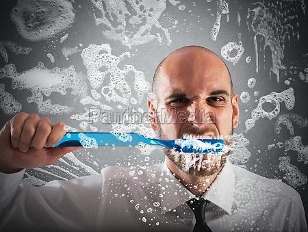 big toothbrush