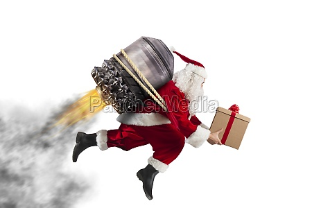 delivery of christmas gifts