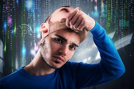 teenager hacker