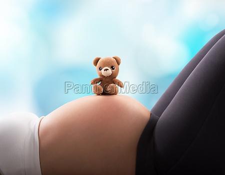 teddy bear for the baby