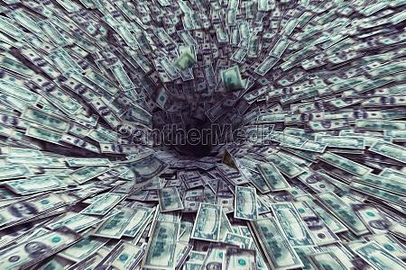 black hole money