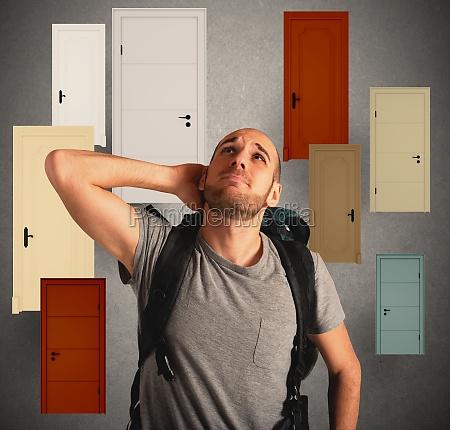 choose door